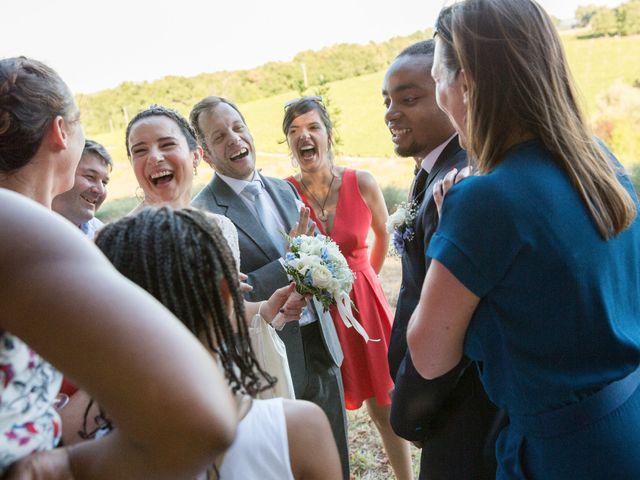 Le mariage de Jolberto et Mélanie à Izon, Gironde 23