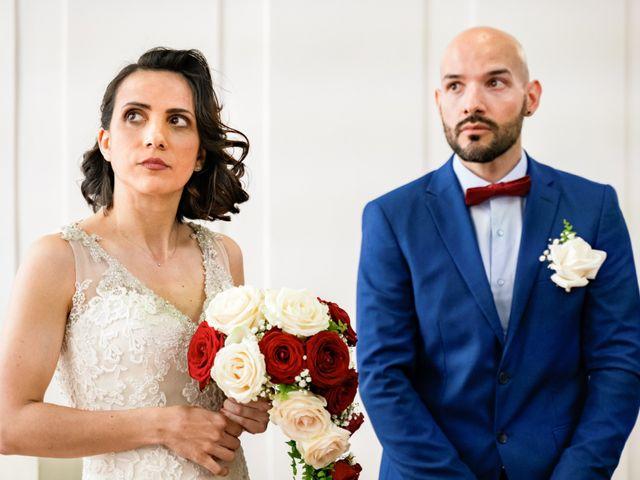 Le mariage de Nuno et Sandra à Coubron, Seine-Saint-Denis 17