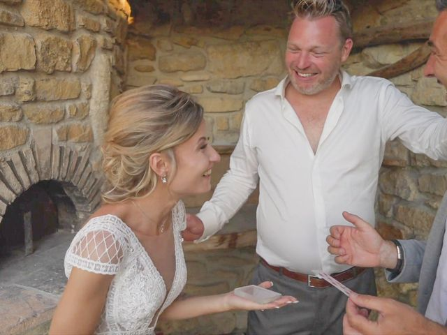 Le mariage de Damien et Elsa à La Cadière-d'Azur, Var 3