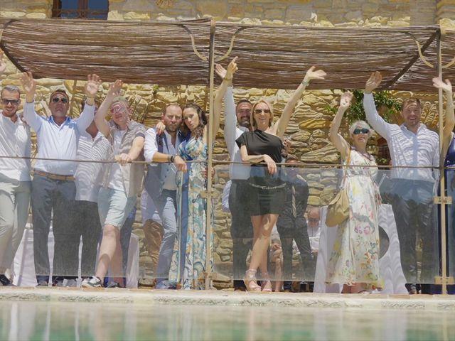 Le mariage de Damien et Elsa à La Cadière-d'Azur, Var 1