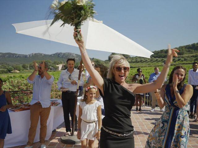 Le mariage de Damien et Elsa à La Cadière-d'Azur, Var 10