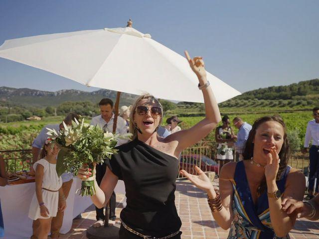 Le mariage de Damien et Elsa à La Cadière-d'Azur, Var 11