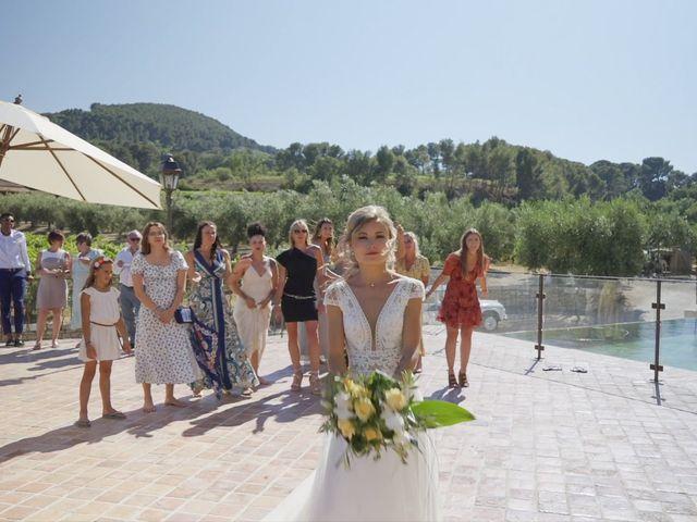 Le mariage de Damien et Elsa à La Cadière-d'Azur, Var 16