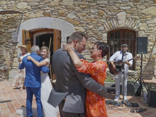 Le mariage de Damien et Elsa à La Cadière-d'Azur, Var 19