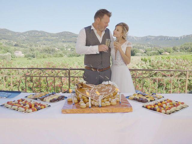Le mariage de Damien et Elsa à La Cadière-d'Azur, Var 22