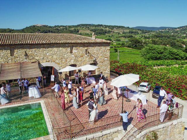 Le mariage de Damien et Elsa à La Cadière-d'Azur, Var 27