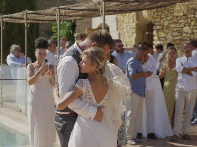 Le mariage de Damien et Elsa à La Cadière-d'Azur, Var 29
