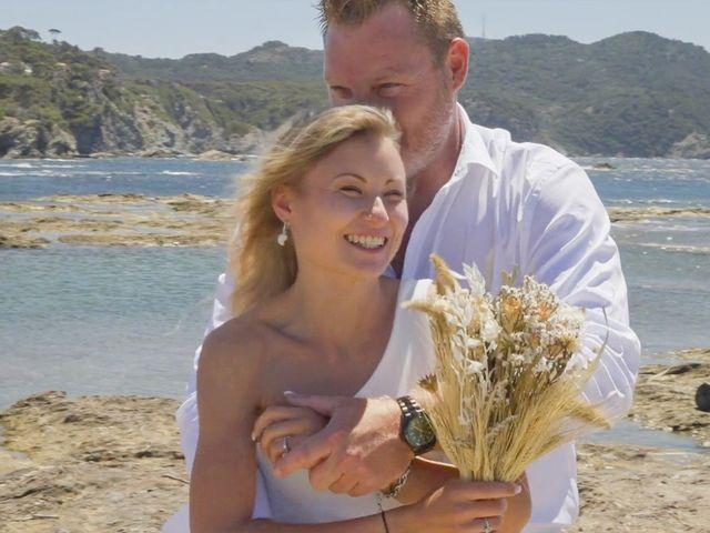 Le mariage de Damien et Elsa à La Cadière-d'Azur, Var 2