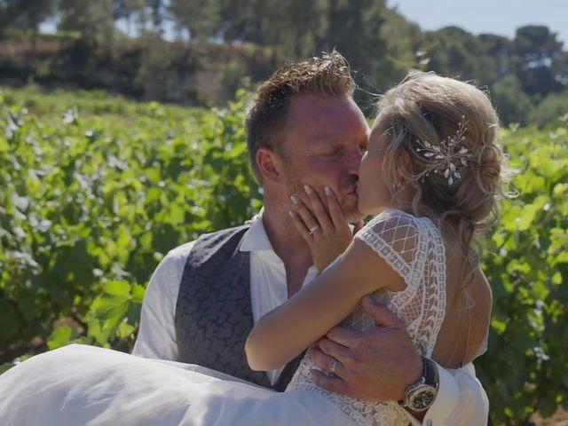 Le mariage de Damien et Elsa à La Cadière-d'Azur, Var 37