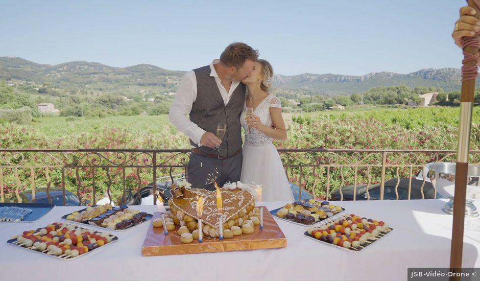 Le mariage de Damien et Elsa à La Cadière-d'Azur, Var