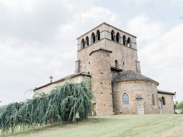 Le mariage de Felipe et Claire à Lacenas, Rhône 2