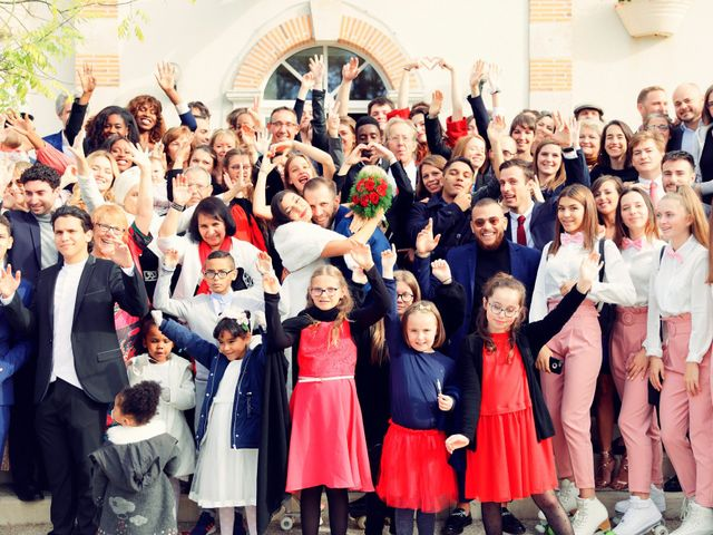 Le mariage de Florian et Najet à Orléans, Loiret 39
