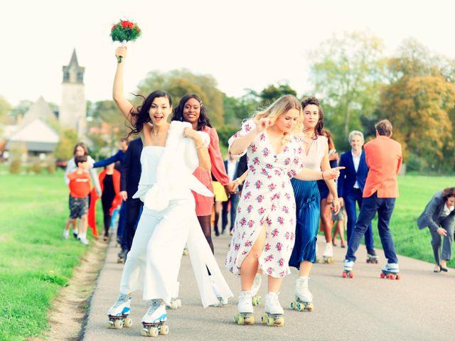 Le mariage de Florian et Najet à Orléans, Loiret 44