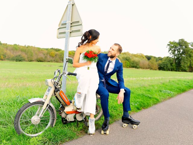 Le mariage de Florian et Najet à Orléans, Loiret 48