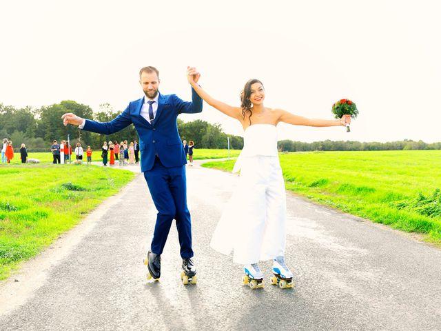 Le mariage de Florian et Najet à Orléans, Loiret 49