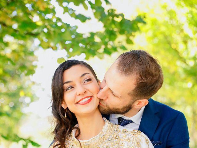 Le mariage de Florian et Najet à Orléans, Loiret 54