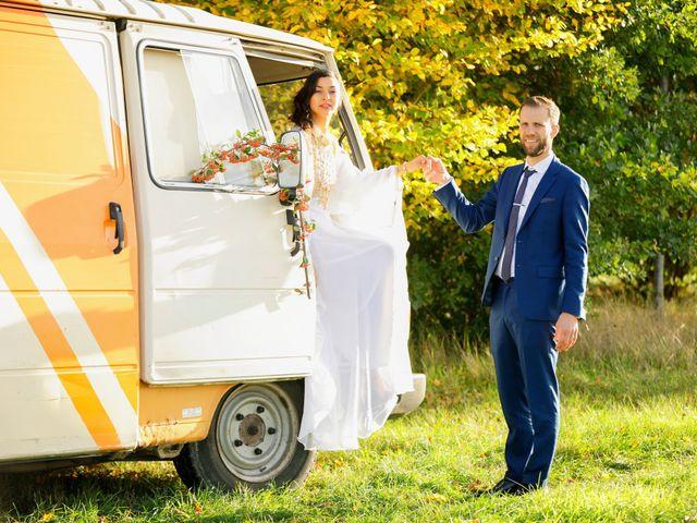 Le mariage de Florian et Najet à Orléans, Loiret 87