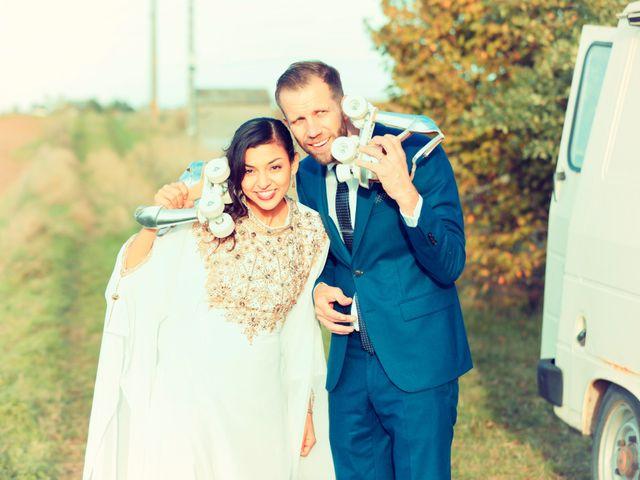 Le mariage de Florian et Najet à Orléans, Loiret 95