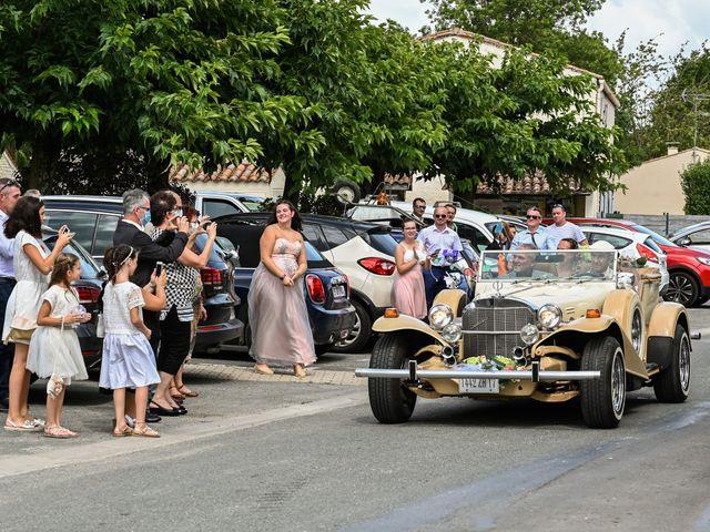 Le mariage de Steve et Amandine à Benon, Charente Maritime 7