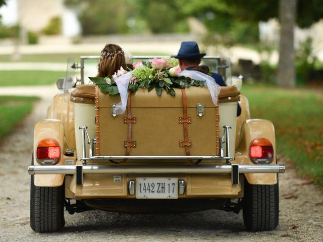 Le mariage de Steve et Amandine à Benon, Charente Maritime 18