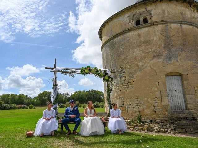 Le mariage de Steve et Amandine à Benon, Charente Maritime 26