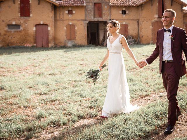 Le mariage de Maxime et Guillemette à Castex-d'Armagnac, Gers 10