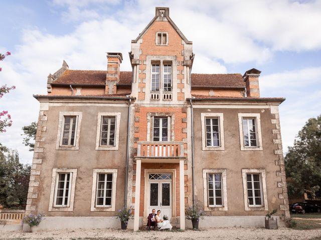 Le mariage de Maxime et Guillemette à Castex-d'Armagnac, Gers 13