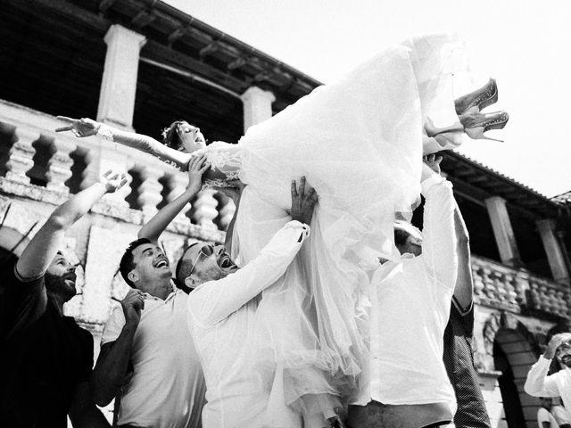Le mariage de Nicolas et Elodie à Chalais, Charente 1