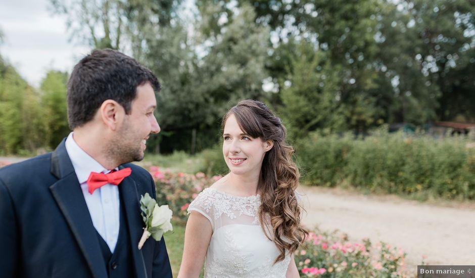 Le mariage de Felipe et Claire à Lacenas, Rhône