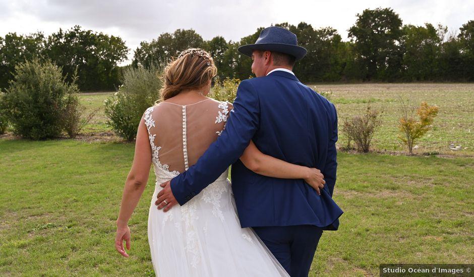 Le mariage de Steve et Amandine à Benon, Charente Maritime