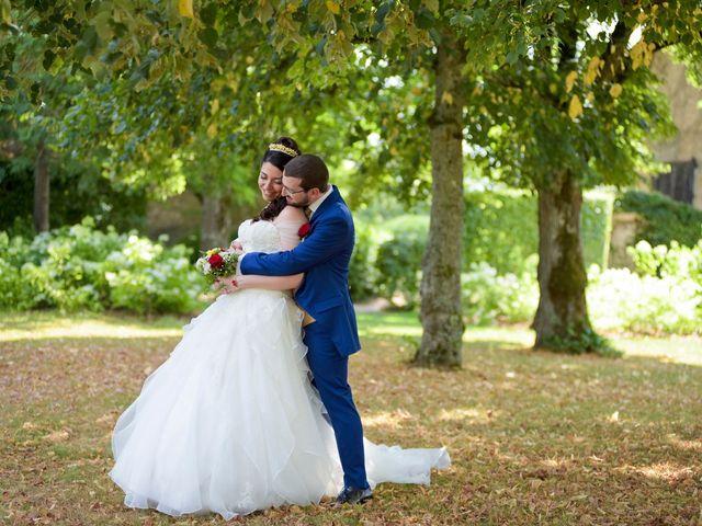 Le mariage de Kevin et Joss à Saint-Pourçain-sur-Besbre, Allier 63