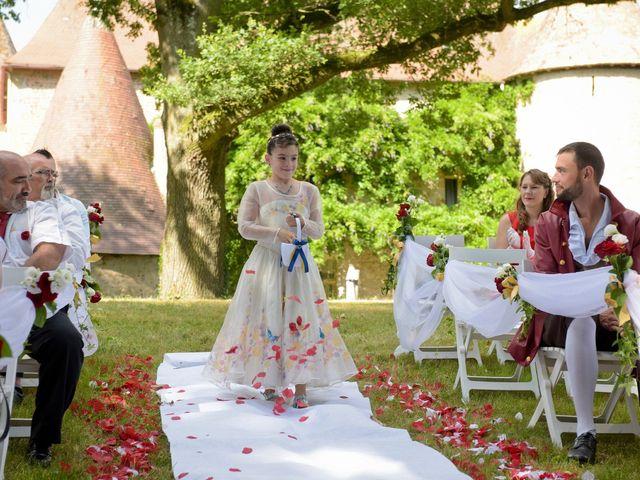 Le mariage de Kevin et Joss à Saint-Pourçain-sur-Besbre, Allier 81