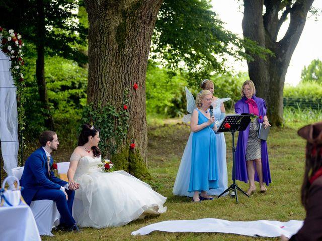 Le mariage de Kevin et Joss à Saint-Pourçain-sur-Besbre, Allier 86