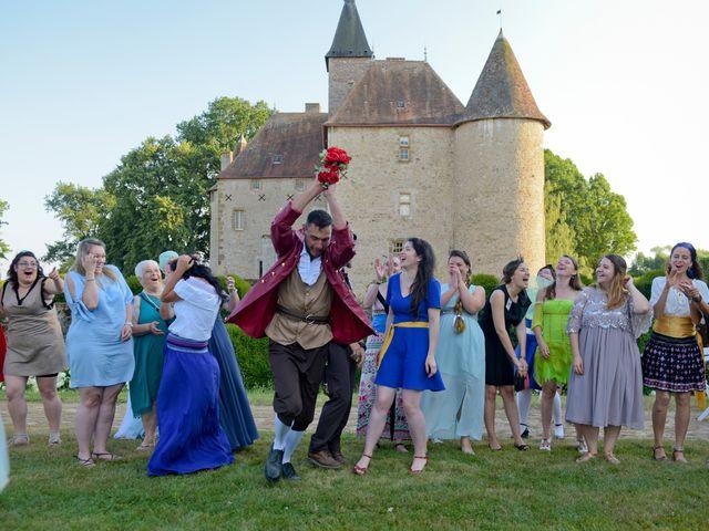 Le mariage de Kevin et Joss à Saint-Pourçain-sur-Besbre, Allier 127