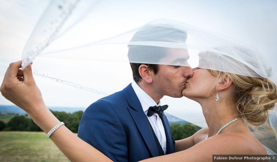 Le mariage de Julien et Morgane à Villefranche-de-Panat, Aveyron