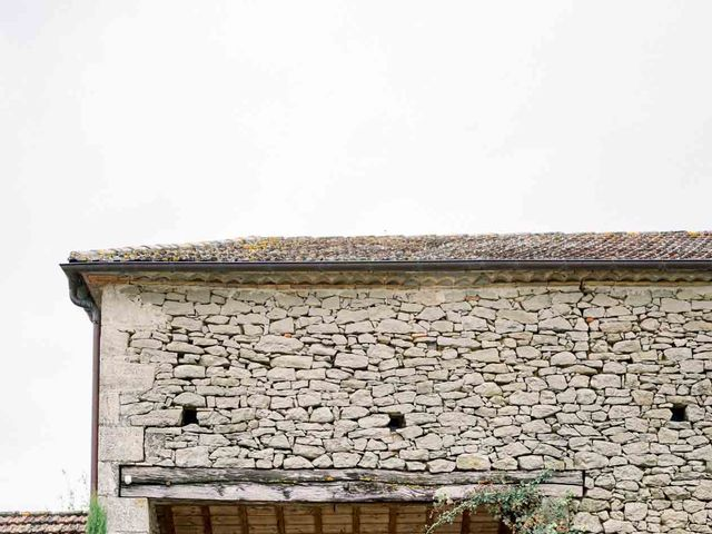 Le mariage de Jérôme et Amandine à Loubens, Gironde 6