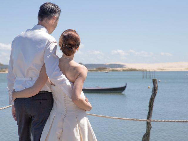 Le mariage de Olivier et Anne-Bérangère à Lège-Cap-Ferret, Gironde 16