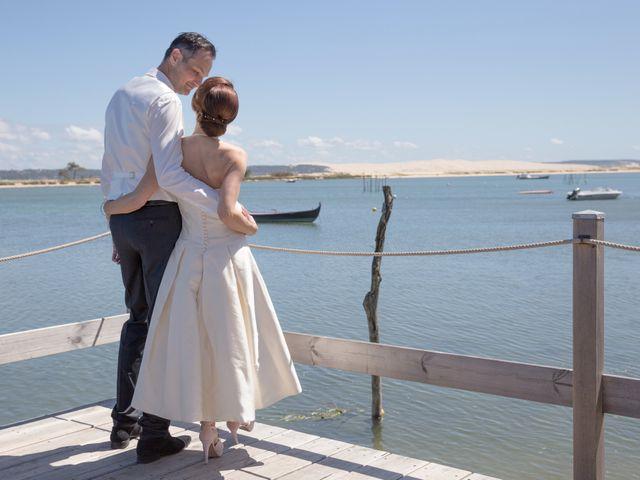 Le mariage de Olivier et Anne-Bérangère à Lège-Cap-Ferret, Gironde 17