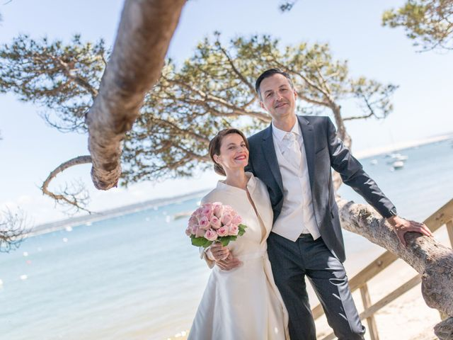 Le mariage de Olivier et Anne-Bérangère à Lège-Cap-Ferret, Gironde 18
