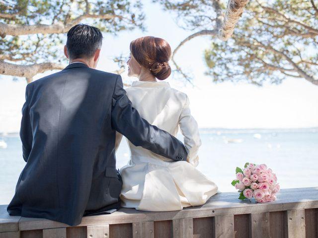 Le mariage de Olivier et Anne-Bérangère à Lège-Cap-Ferret, Gironde 19