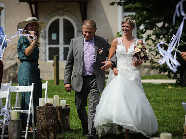 Le mariage de Marc et Kathleen  à Faverges, Haute-Savoie 10