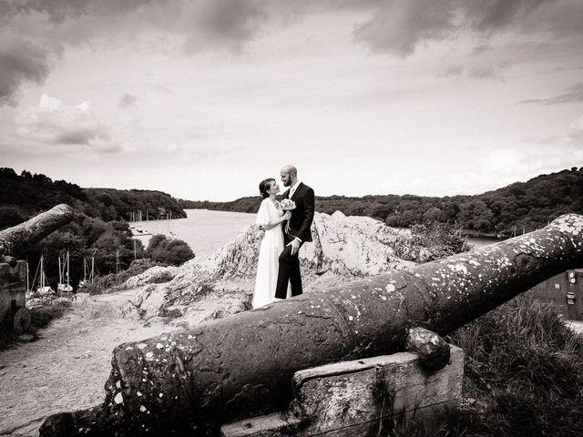 Le mariage de Baptiste et Laetitia à Camoël, Morbihan 11