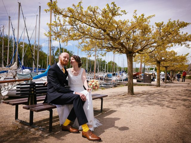 Le mariage de Baptiste et Laetitia à Camoël, Morbihan 12