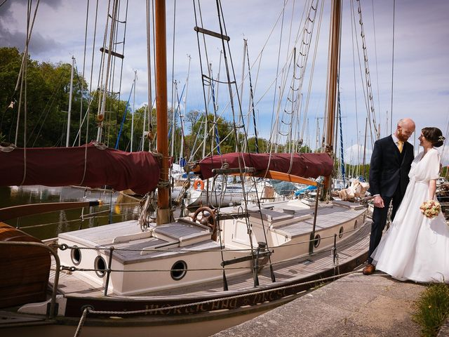 Le mariage de Baptiste et Laetitia à Camoël, Morbihan 13