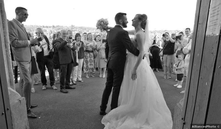 Le mariage de Rémy et Naomi à Saint-Martin-de-Mailloc, Calvados