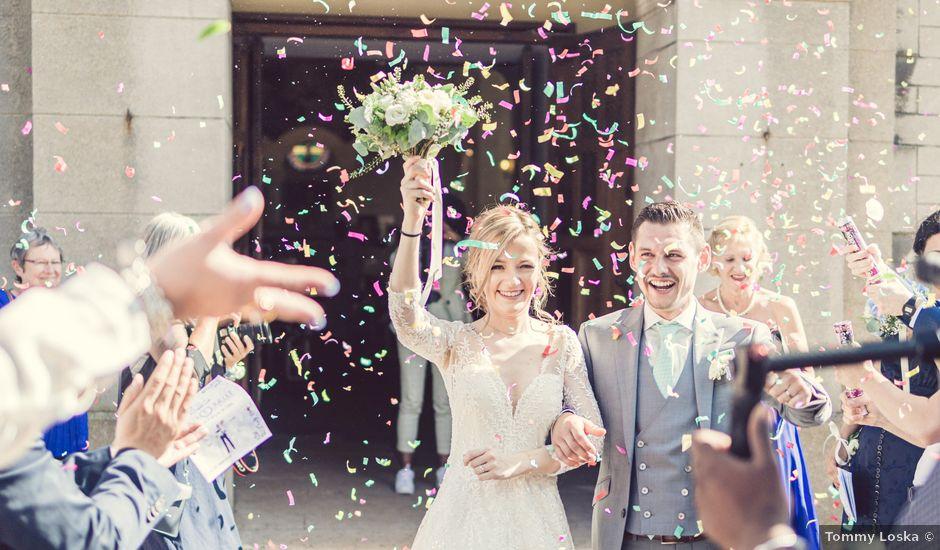 Le mariage de Micka et Alice à Vaugrigneuse, Essonne