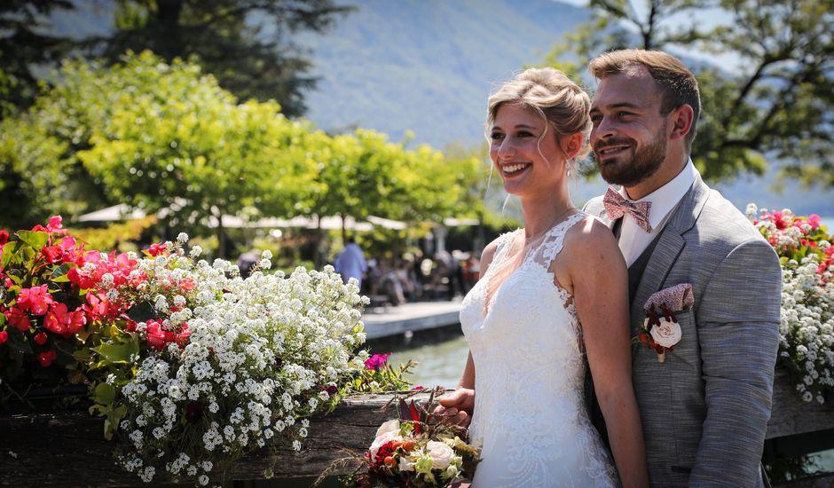 Le mariage de Marc et Kathleen  à Faverges, Haute-Savoie