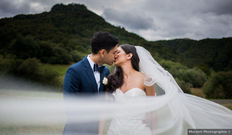 Le mariage de Nima et Mélody à Chambon-sur-Lac, Puy-de-Dôme