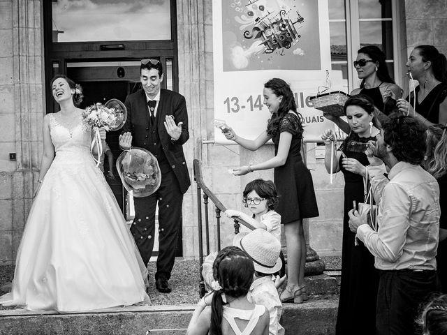 Le mariage de Stéphane et Sophie à Romegoux, Charente Maritime 17