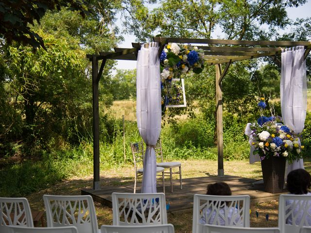 Le mariage de Stéphane et Sophie à Romegoux, Charente Maritime 19